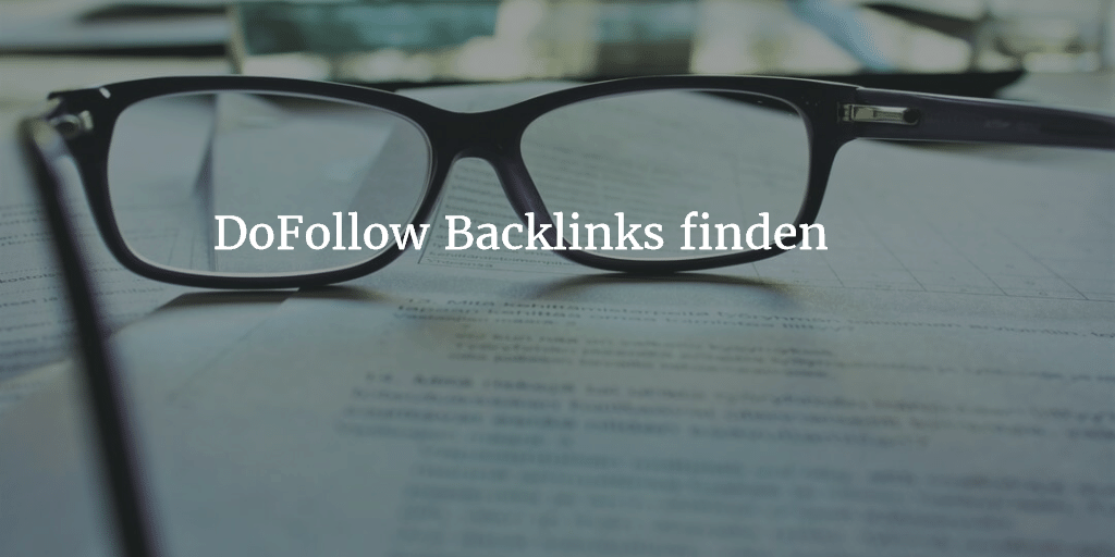 DoFollow Backlinks finden