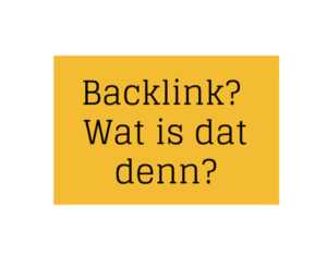 backlink wat is dat denn