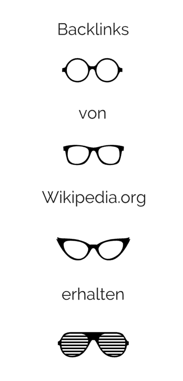 backlinks von wikipedia erhalten