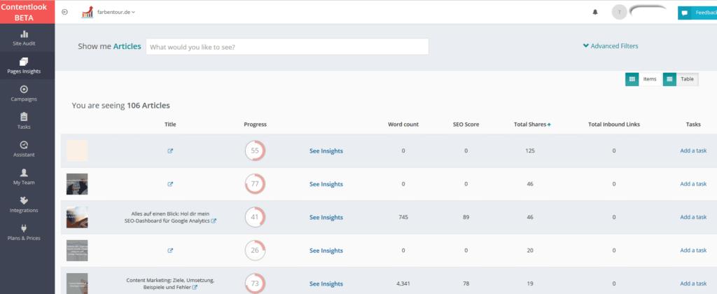 contentlook 1024x420 - Kostenlose SEO Tools, die du unbedingt kennen solltest