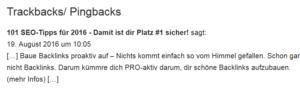 trackback-beispiel-linkbuilding-guide