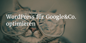 WordPress SEO – WordPress für Suchmaschinen optimieren (mit Video)