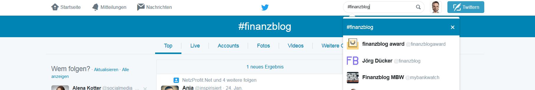 finanazblog twitter