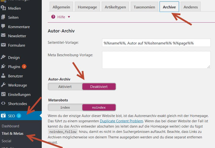 autoren-archive-deaktivieren