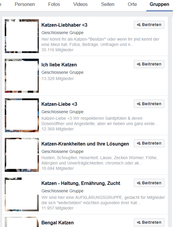 katzen gruppen bei facebook - Was ist Content Marketing?
