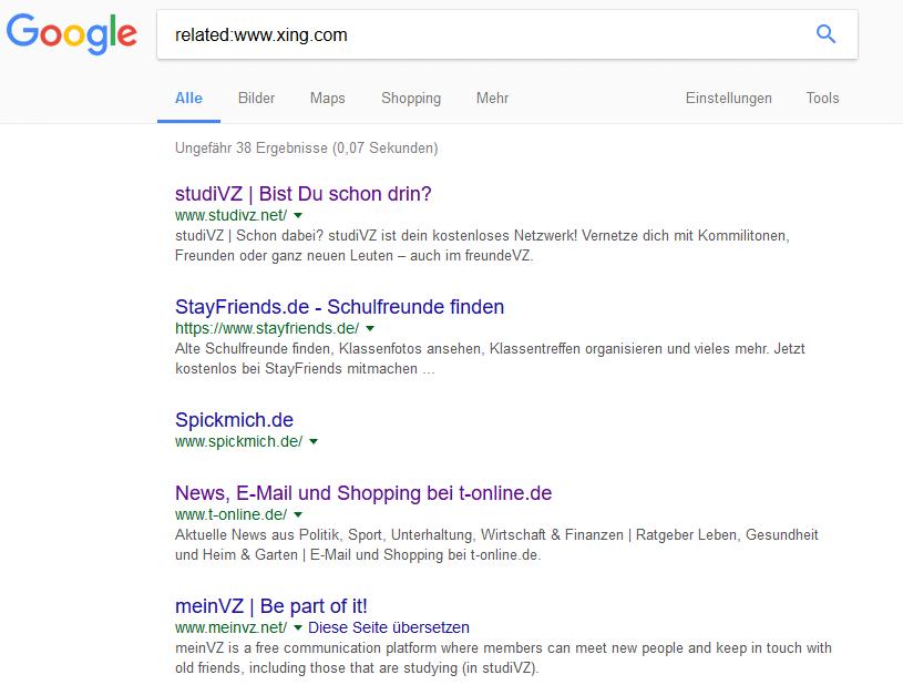 Bild 9 related - 19 hilfreiche Google Suchoperatoren für bessere Suchergebnisse