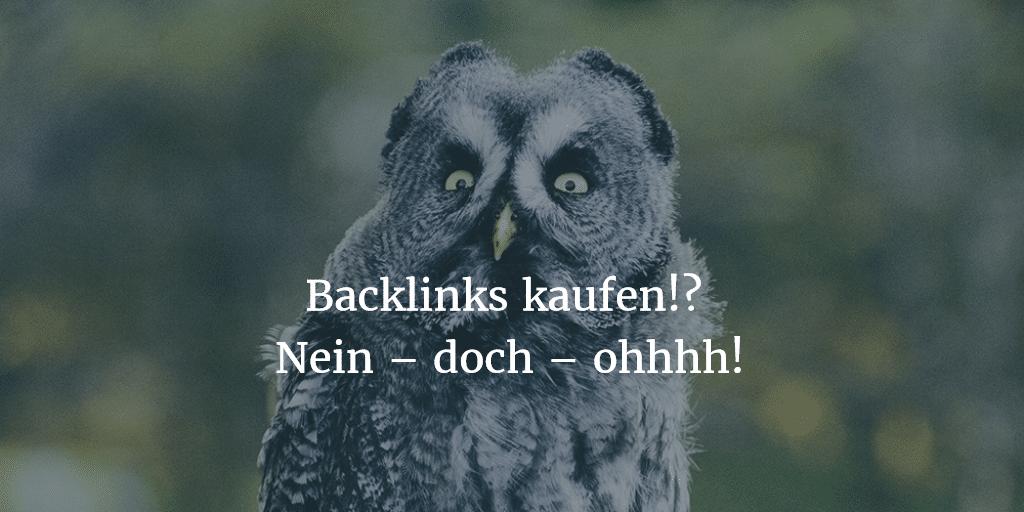 Backlinks kaufen