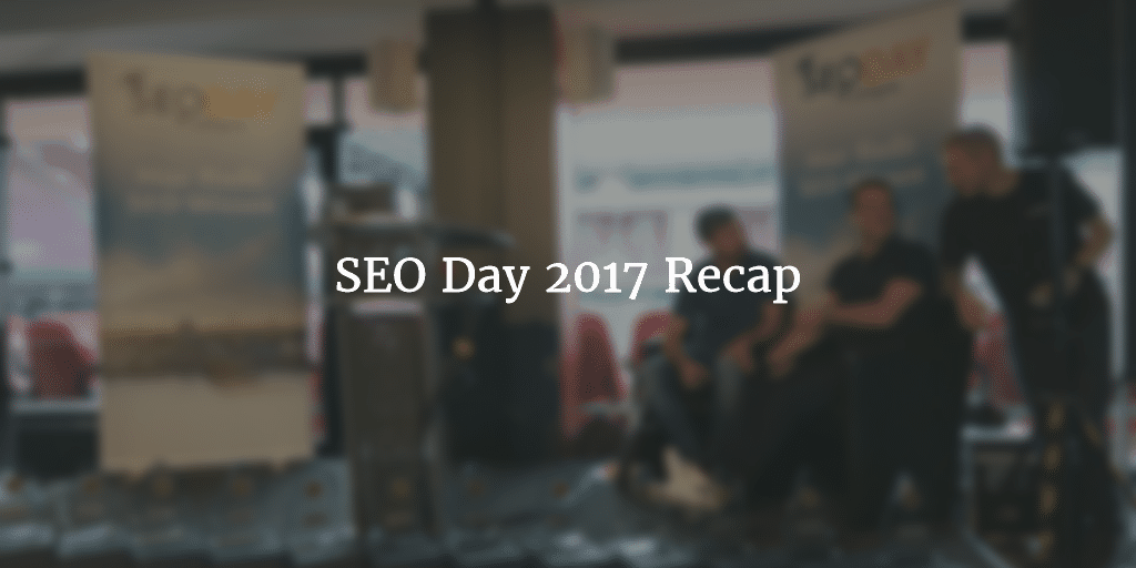seo day recap