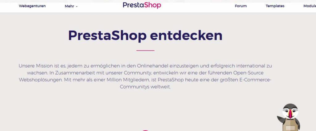 PrestaShop 1024x425 - 15 Open Source Shopsysteme im Überblick - Finde die richtige E-Commerce-Lösung für dein Business