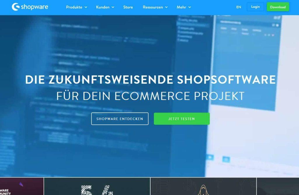 Shopware 1024x669 - 15 Open Source Shopsysteme im Überblick - Finde die richtige E-Commerce-Lösung für dein Business