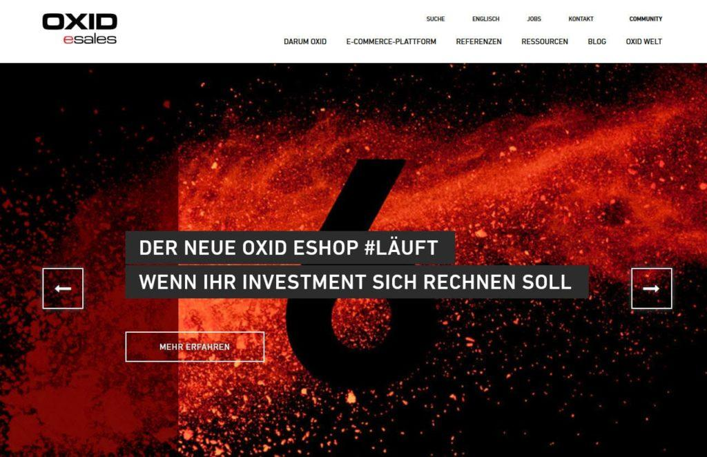 oxid esales 1024x662 - 15 Open Source Shopsysteme im Überblick - Finde die richtige E-Commerce-Lösung für dein Business