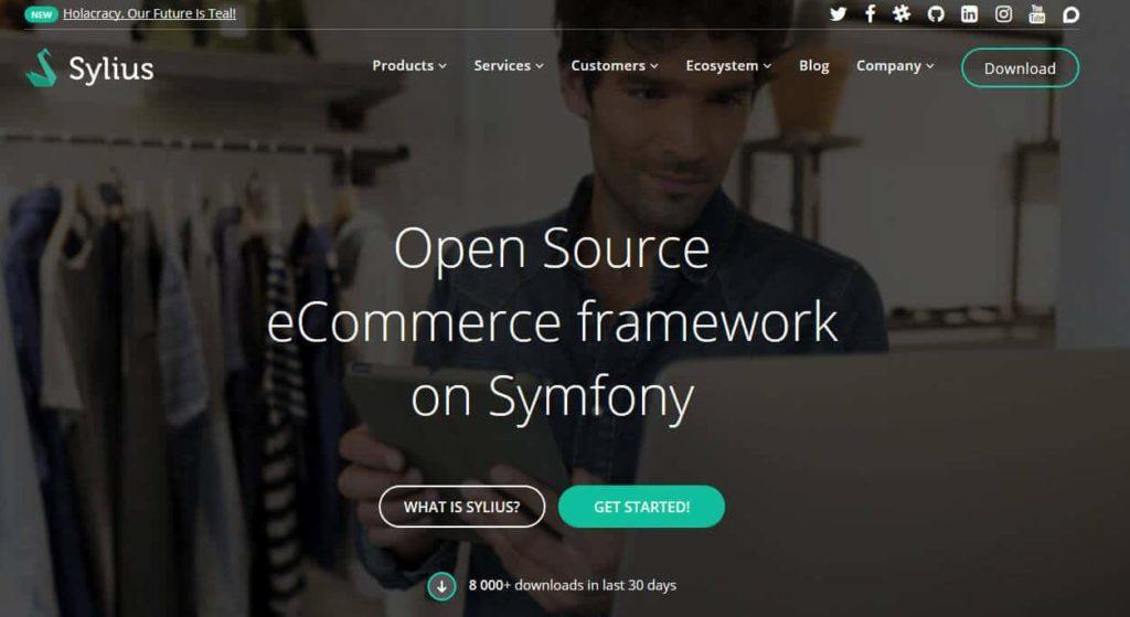 sylius 1024x559 - 15 Open Source Shopsysteme im Überblick - Finde die richtige E-Commerce-Lösung für dein Business