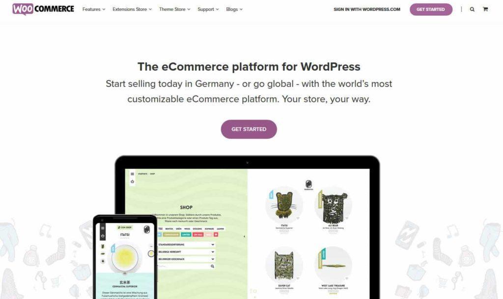 woocommerce 1024x610 - 15 Open Source Shopsysteme im Überblick - Finde die richtige E-Commerce-Lösung für dein Business