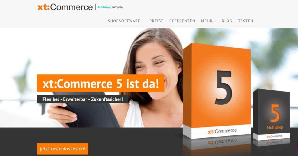 xtcommerce 1024x538 - 15 Open Source Shopsysteme im Überblick - Finde die richtige E-Commerce-Lösung für dein Business