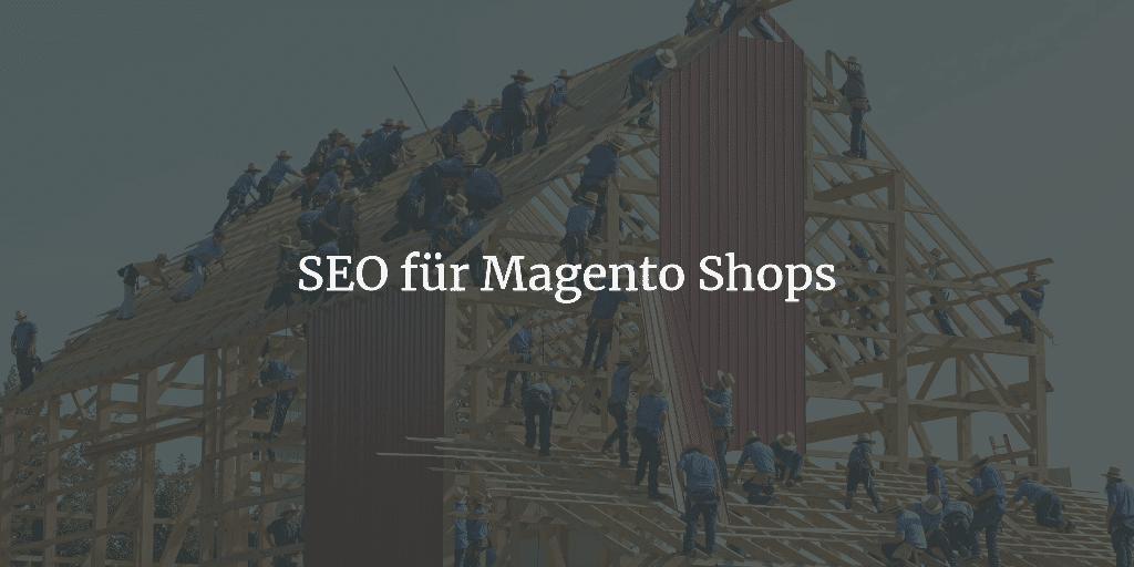 Magento SEO: So machst du deinen Magento Shop fit für die Suchmaschinen