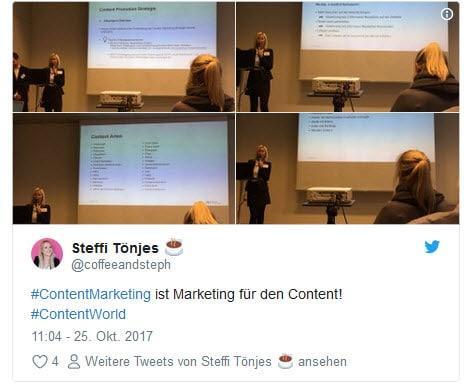 content world 1 - Über Farbentour.de