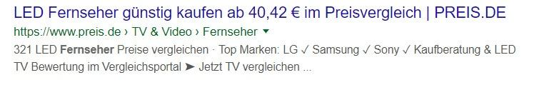 Title mit Zahlen und Preisen