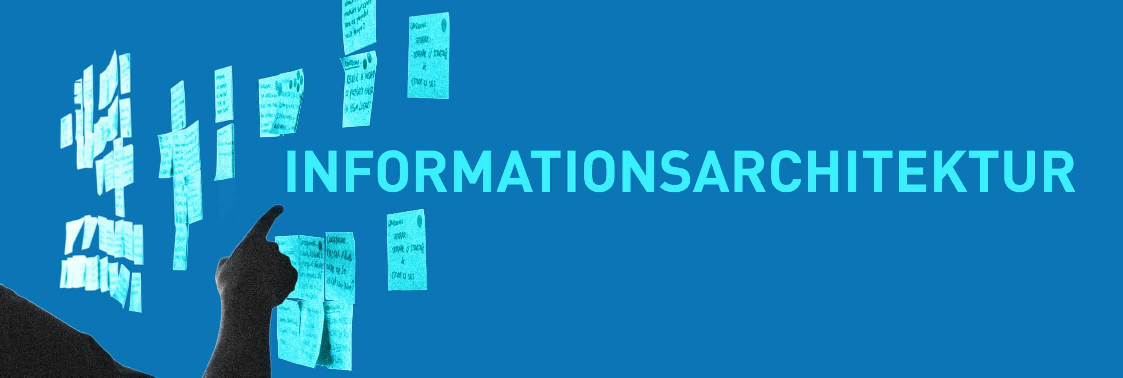 Informations- und Seitenarchitektur