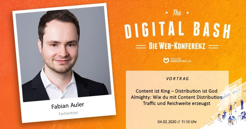 Fabian Auler Vortrag Content Distribution