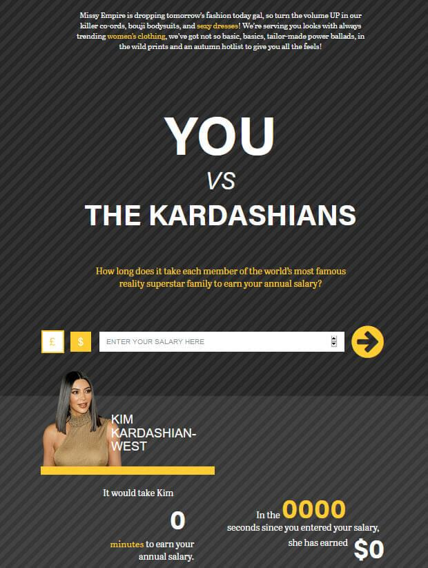 YOU VS. THE KARDASHIANS