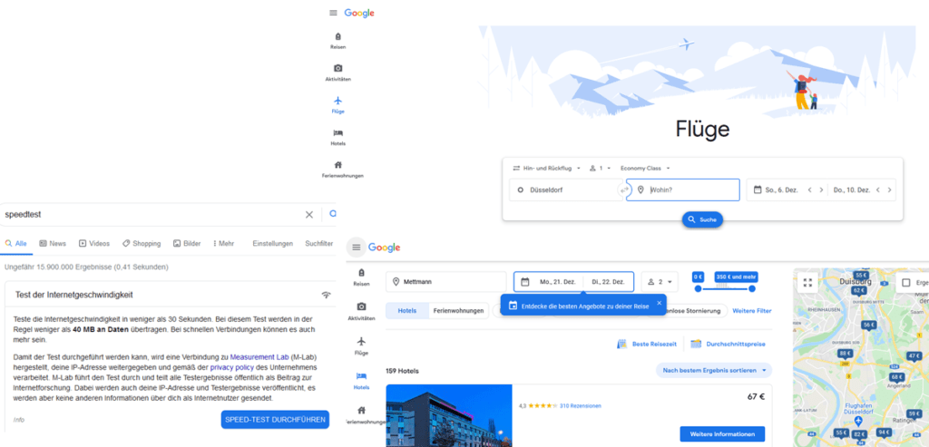 Google Service Beispiele